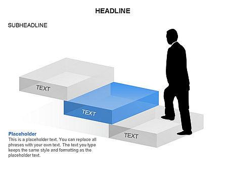 Career Steps Toolbox, Slide 10, 03361, Stage Diagrams — PoweredTemplate.com