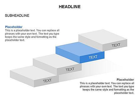 Career Steps Toolbox, Slide 11, 03361, Stage Diagrams — PoweredTemplate.com