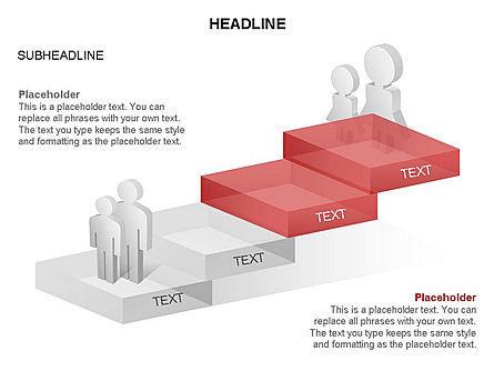 Career Steps Toolbox, Slide 12, 03361, Stage Diagrams — PoweredTemplate.com
