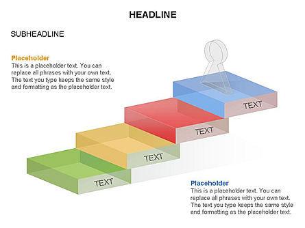 Career Steps Toolbox, Slide 13, 03361, Stage Diagrams — PoweredTemplate.com