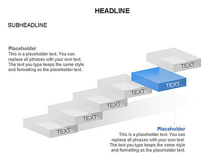 Career Steps Toolbox, Slide 15, 03361, Stage Diagrams — PoweredTemplate.com