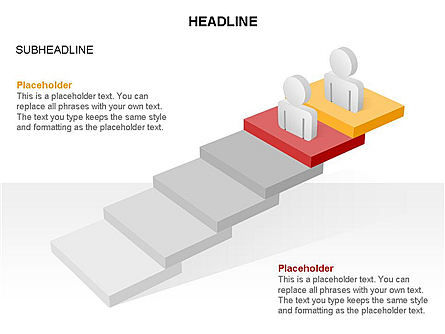 Career Steps Toolbox, Slide 16, 03361, Stage Diagrams — PoweredTemplate.com