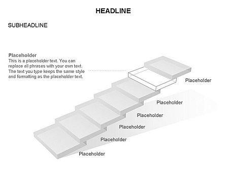 Career Steps Toolbox, Slide 18, 03361, Stage Diagrams — PoweredTemplate.com