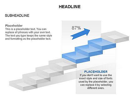 Career Steps Toolbox, Slide 19, 03361, Stage Diagrams — PoweredTemplate.com