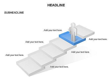 Career Steps Toolbox, Slide 2, 03361, Stage Diagrams — PoweredTemplate.com