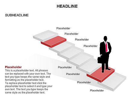 Career Steps Toolbox, Slide 20, 03361, Stage Diagrams — PoweredTemplate.com