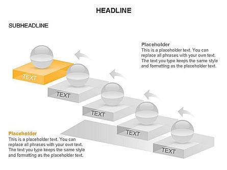 Career Steps Toolbox, Slide 21, 03361, Stage Diagrams — PoweredTemplate.com