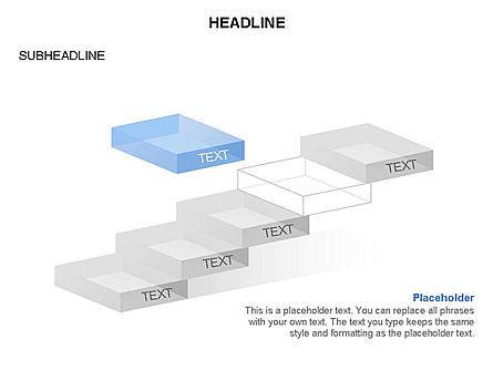 Career Steps Toolbox, Slide 22, 03361, Stage Diagrams — PoweredTemplate.com