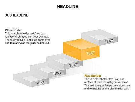 Career Steps Toolbox, Slide 23, 03361, Stage Diagrams — PoweredTemplate.com