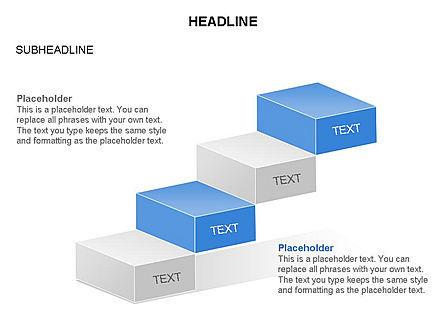 Career Steps Toolbox, Slide 24, 03361, Stage Diagrams — PoweredTemplate.com