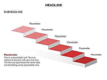Career Steps Toolbox, Slide 26, 03361, Stage Diagrams — PoweredTemplate.com