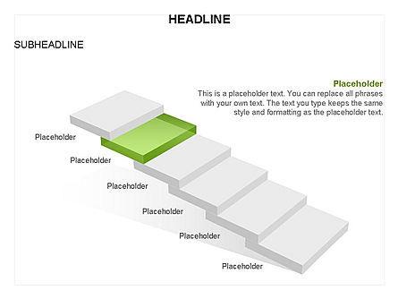 Career Steps Toolbox, Slide 27, 03361, Stage Diagrams — PoweredTemplate.com