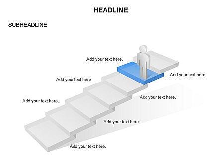 Career Steps Toolbox, Slide 3, 03361, Stage Diagrams — PoweredTemplate.com