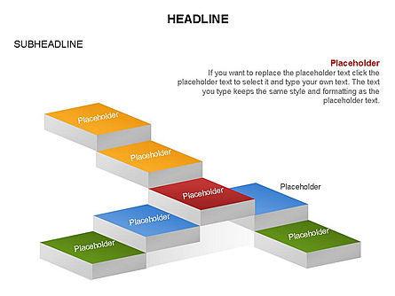 Career Steps Toolbox, Slide 32, 03361, Stage Diagrams — PoweredTemplate.com