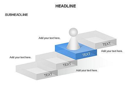Career Steps Toolbox, Slide 5, 03361, Stage Diagrams — PoweredTemplate.com