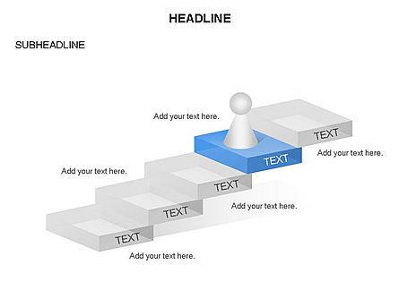 Career Steps Toolbox, Slide 6, 03361, Stage Diagrams — PoweredTemplate.com