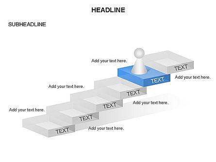 Career Steps Toolbox, Slide 7, 03361, Stage Diagrams — PoweredTemplate.com