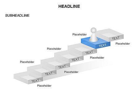 Career Steps Toolbox, Slide 8, 03361, Stage Diagrams — PoweredTemplate.com