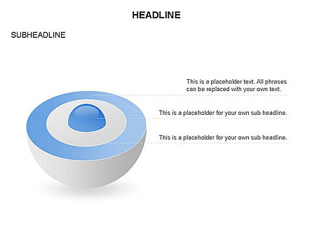 Sphere with Core Toolbox, Slide 2, 03365, Shapes — PoweredTemplate.com