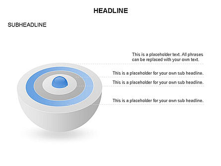 Sphere with Core Toolbox, Slide 4, 03365, Shapes — PoweredTemplate.com