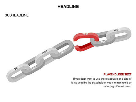 Chain Toolbox, Slide 13, 03366, Stage Diagrams — PoweredTemplate.com