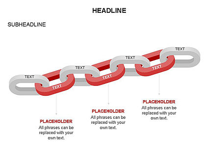 Chain Toolbox, Slide 15, 03366, Stage Diagrams — PoweredTemplate.com