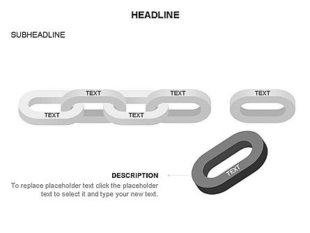 Chain Toolbox, Slide 18, 03366, Stage Diagrams — PoweredTemplate.com