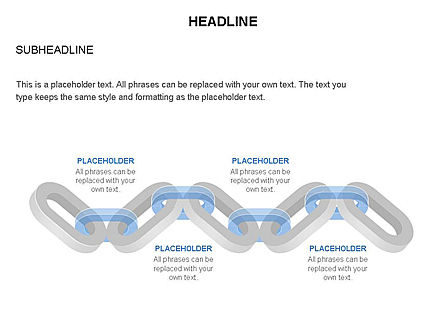 Chain Toolbox, Slide 19, 03366, Stage Diagrams — PoweredTemplate.com