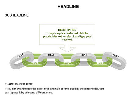 Chain Toolbox, Slide 20, 03366, Stage Diagrams — PoweredTemplate.com