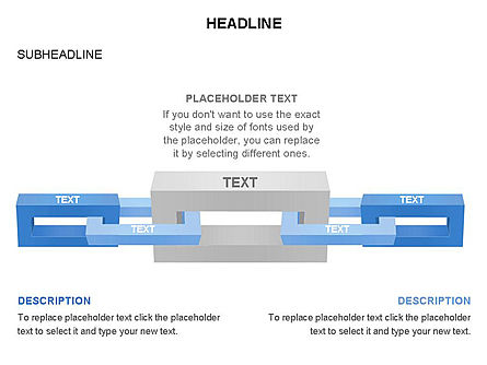 Chain Toolbox, Slide 24, 03366, Stage Diagrams — PoweredTemplate.com