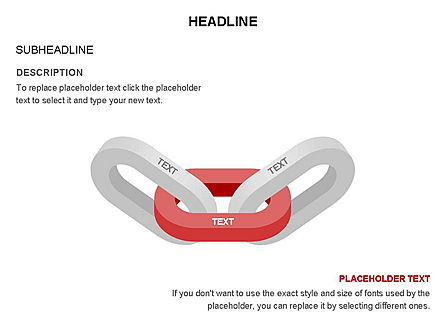 Chain Toolbox, Slide 5, 03366, Stage Diagrams — PoweredTemplate.com