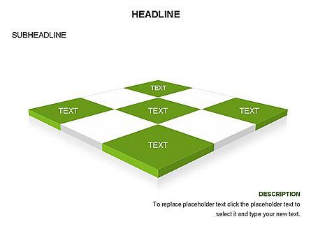 Checkered Tiles Toolbox, Slide 15, 03367, Shapes — PoweredTemplate.com