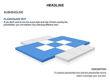 Checkered Tiles Toolbox, Slide 20, 03367, Shapes — PoweredTemplate.com