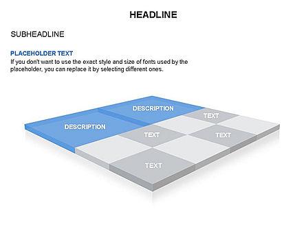 Checkered Tiles Toolbox, Slide 22, 03367, Shapes — PoweredTemplate.com