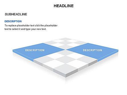 Checkered Tiles Toolbox, Slide 25, 03367, Shapes — PoweredTemplate.com