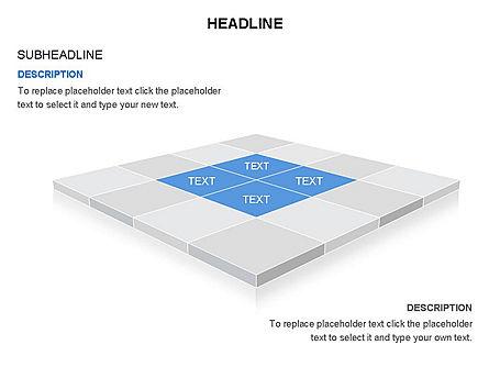 Checkered Tiles Toolbox, Slide 27, 03367, Shapes — PoweredTemplate.com