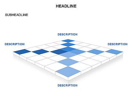 Checkered Tiles Toolbox, Slide 28, 03367, Shapes — PoweredTemplate.com