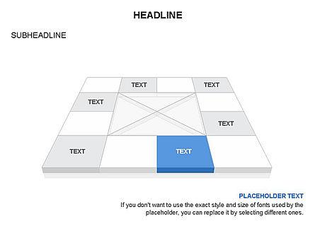 Checkered Tiles Toolbox, Slide 31, 03367, Shapes — PoweredTemplate.com