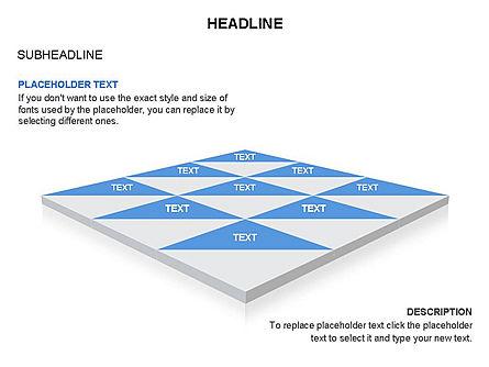 Checkered Tiles Toolbox, Slide 33, 03367, Shapes — PoweredTemplate.com