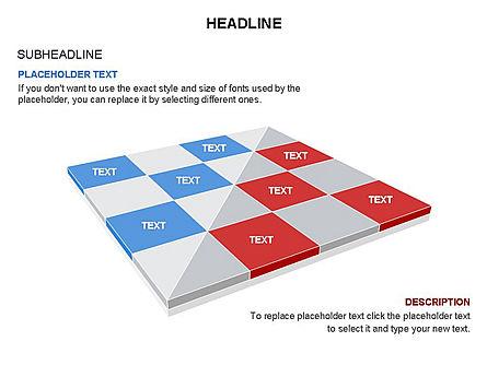 Checkered Tiles Toolbox, Slide 34, 03367, Shapes — PoweredTemplate.com