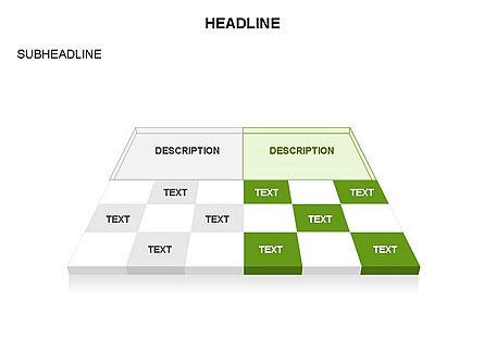 Checkered Tiles Toolbox, Slide 46, 03367, Shapes — PoweredTemplate.com