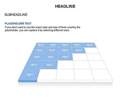 Checkered Tiles Toolbox, Slide 55, 03367, Shapes — PoweredTemplate.com