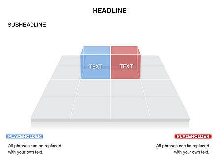 Checkered Tiles Toolbox, Slide 60, 03367, Shapes — PoweredTemplate.com