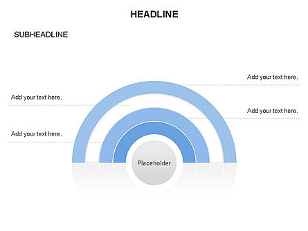 Semicircle and Sector Toolbox , Slide 10, 03368, Shapes — PoweredTemplate.com