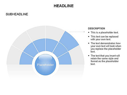 Semicircle and Sector Toolbox , Slide 13, 03368, Shapes — PoweredTemplate.com