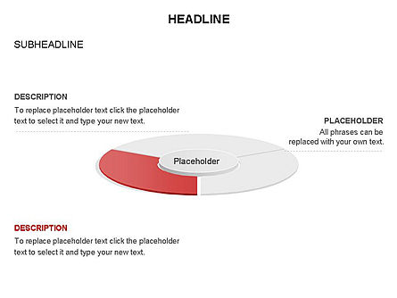 Circle Divided into Sectors Toolbox, Slide 12, 03369, Shapes — PoweredTemplate.com