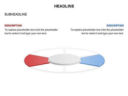 Circle Divided into Sectors Toolbox, Slide 16, 03369, Shapes — PoweredTemplate.com