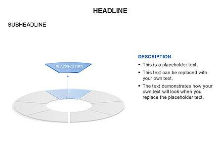 Circle Divided into Sectors Toolbox, Slide 17, 03369, Shapes — PoweredTemplate.com