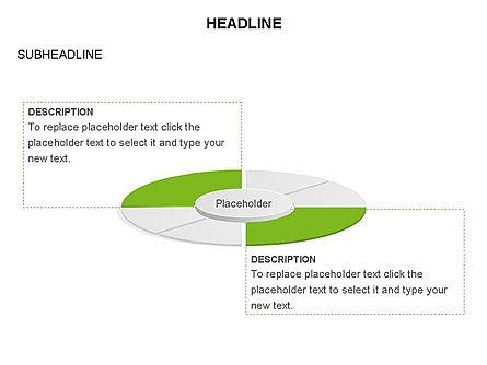 Circle Divided into Sectors Toolbox, Slide 18, 03369, Shapes — PoweredTemplate.com