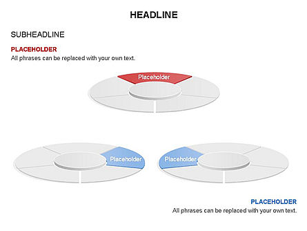Circle Divided into Sectors Toolbox, Slide 20, 03369, Shapes — PoweredTemplate.com